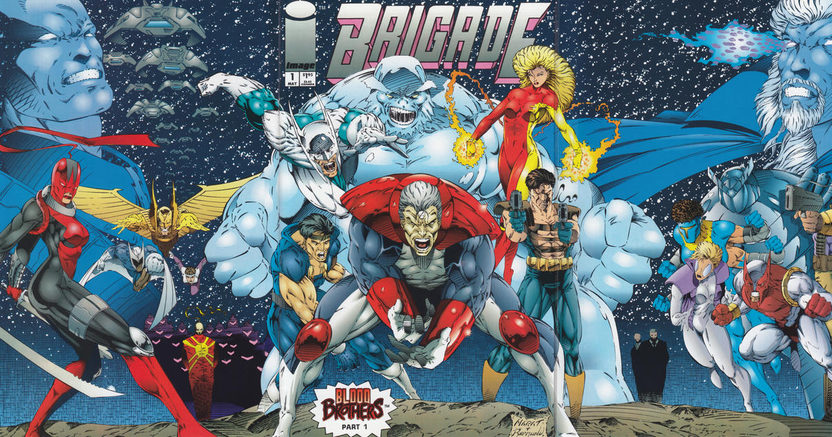 Cover for Brigade (1993 series) #1