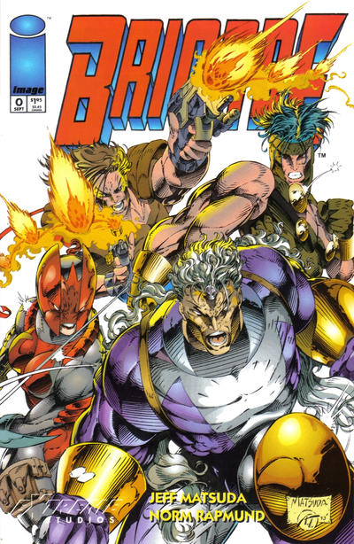 Cover for Brigade (Image, 1993 series) #0