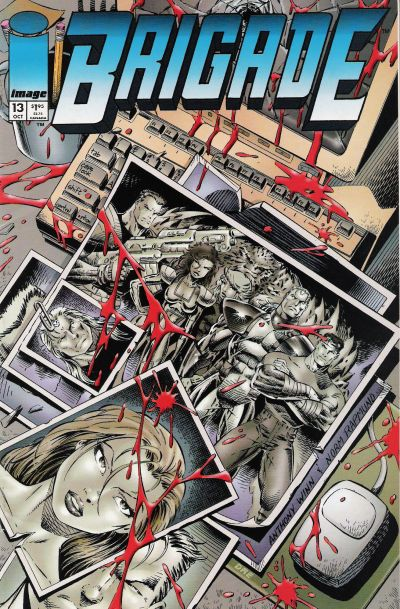 Cover for Brigade (Image, 1993 series) #13