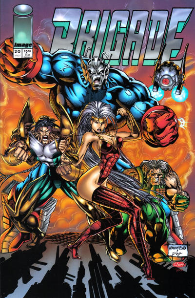 Cover for Brigade (1993 series) #20