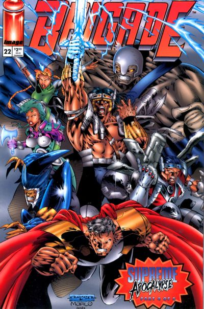 Cover for Brigade (1993 series) #22