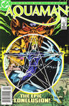Cover for Aquaman (DC, 1986 series) #4