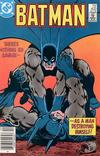 Cover Thumbnail for Batman (1940 series) #402 [Newsstand Variant]