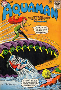Cover for Aquaman (1962 series) #13