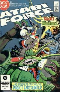 Cover Thumbnail for Atari Force (DC, 1984 series) #2 [Direct Edition]