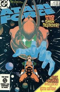 Cover for Atari Force (DC, 1984 series) #12 [Direct Edition]
