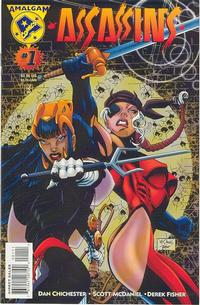 Cover Thumbnail for Assassins (DC / Marvel, 1996 series) #1 [Direct Edition]