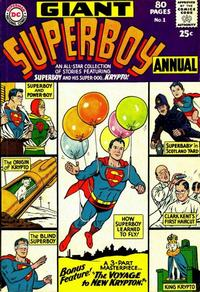 Cover Thumbnail for Superboy Annual (DC, 1964 series) #1