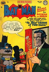 Cover for Batman (DC, 1940 series) #68