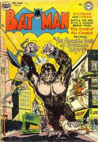 Cover for Batman (1940 series) #75