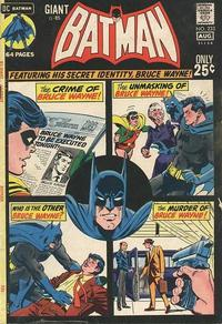 Cover for Batman (DC, 1940 series) #233
