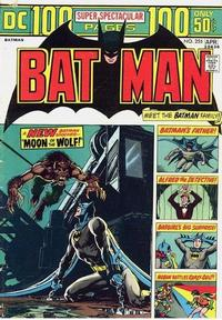 Cover Thumbnail for Batman (DC, 1940 series) #255