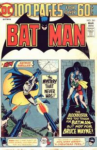 Cover for Batman (1940 series) #261