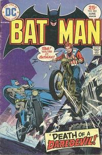 Cover for Batman (1940 series) #264
