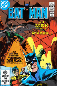 Cover for Batman (DC, 1940 series) #348