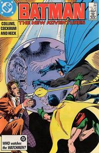 Cover for Batman (1940 series) #411