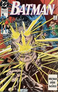 Cover for Batman (DC, 1940 series) #443