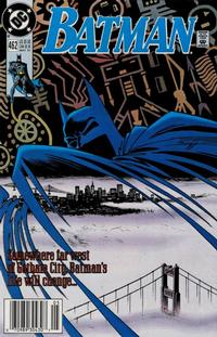 Cover Thumbnail for Batman (DC, 1940 series) #462 [Newsstand]