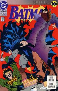Cover Thumbnail for Batman (DC, 1940 series) #492 [Direct Sales Variant]