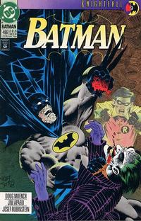 Cover Thumbnail for Batman (DC, 1940 series) #496 [Direct]