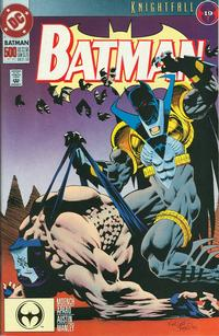 Cover Thumbnail for Batman (DC, 1940 series) #500 [Regular Edition Kelley Jones art]
