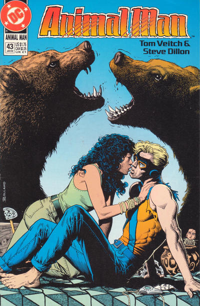 Cover for Animal Man (1988 series) #43