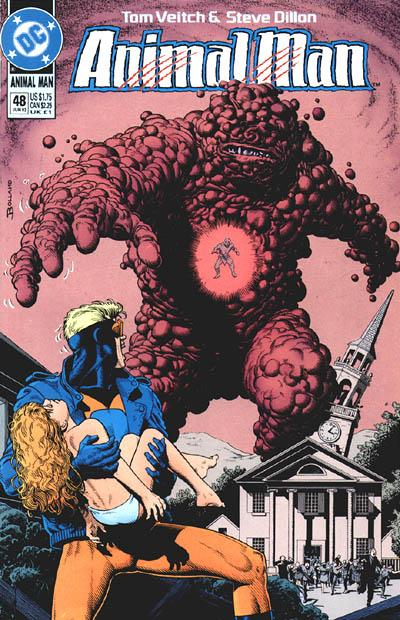 Cover for Animal Man (1988 series) #48