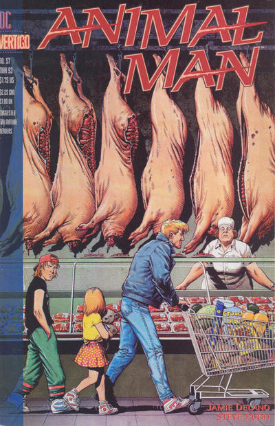 Cover for Animal Man (1988 series) #57