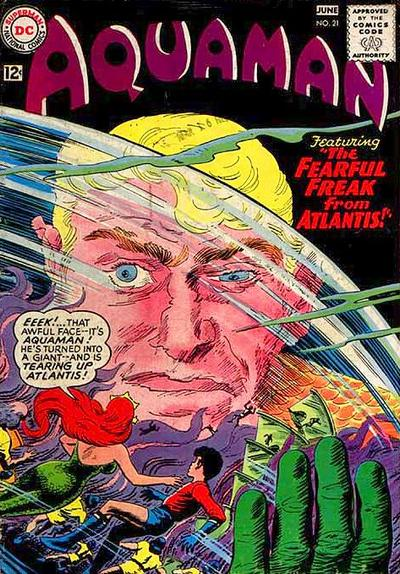 Cover for Aquaman (DC, 1962 series) #21