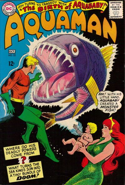 Cover for Aquaman (DC, 1962 series) #23