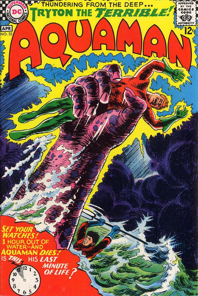 Cover for Aquaman (DC, 1962 series) #32