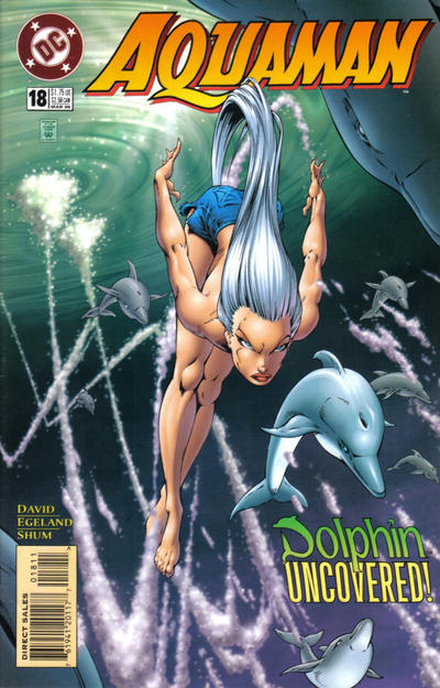 Cover for Aquaman (1994 series) #18