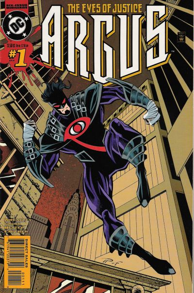 Cover for Argus (DC, 1995 series) #1