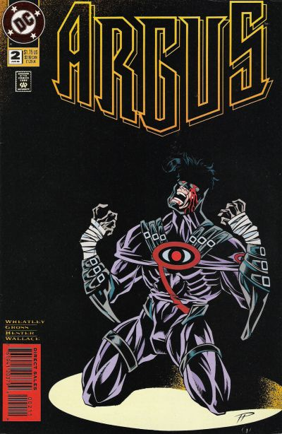Cover for Argus (DC, 1995 series) #2
