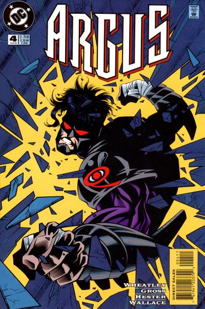 Cover for Argus (DC, 1995 series) #4