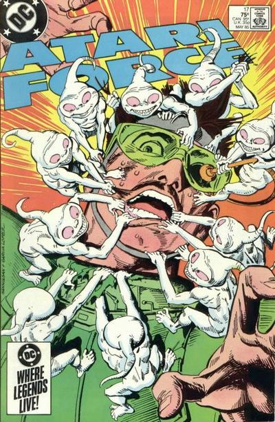 Cover for Atari Force (DC, 1984 series) #17 [Direct Edition]