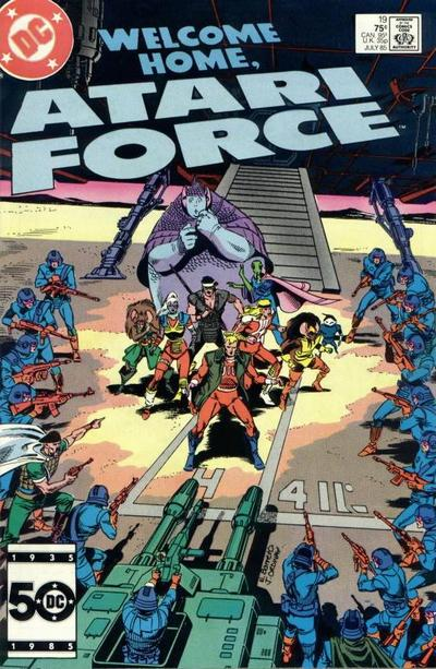 Cover for Atari Force (DC, 1984 series) #19