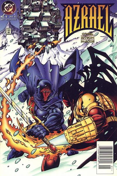 Cover for Azrael (DC, 1995 series) #4