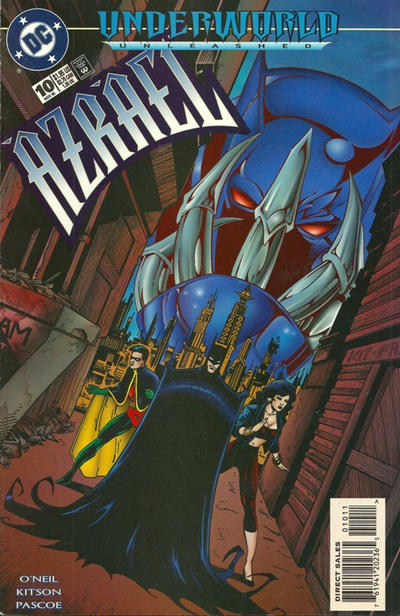 Cover for Azrael (DC, 1995 series) #10