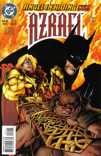 Cover for Azrael (DC, 1995 series) #22
