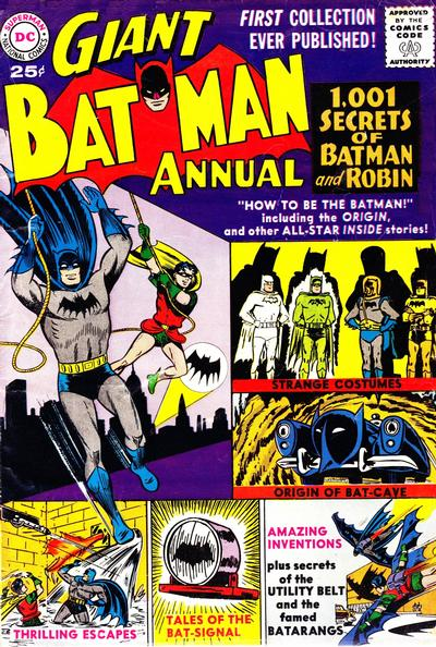 Cover for Batman Annual (DC, 1961 series) #1