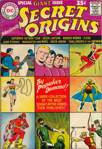 Cover for Secret Origins (DC, 1961 series) #1