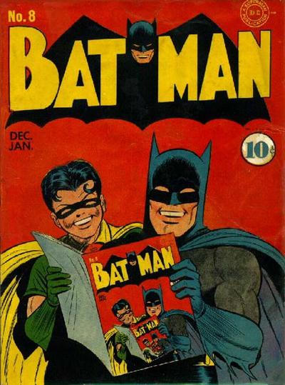 Cover for Batman (1940 series) #8