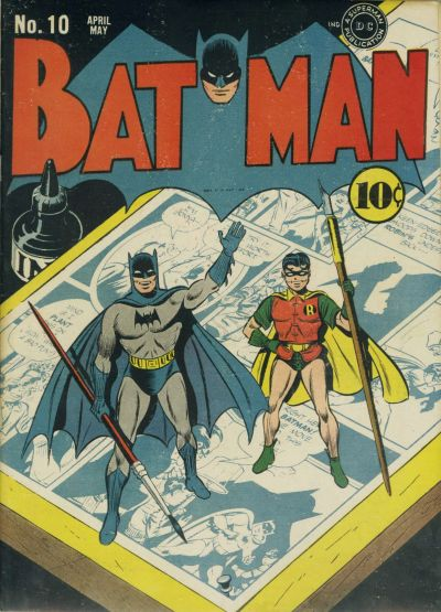 Cover for Batman (1940 series) #10