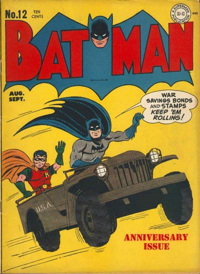 Cover for Batman (1940 series) #12