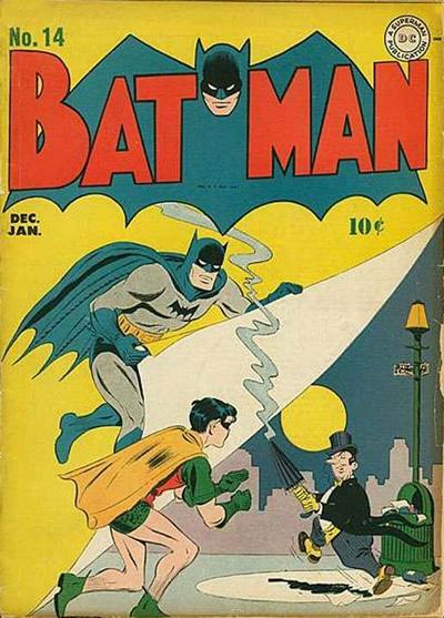 Cover for Batman (1940 series) #14