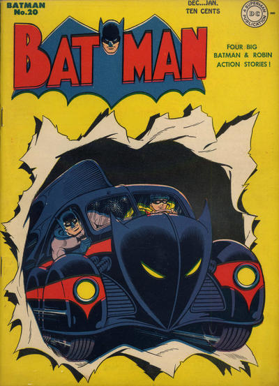 Cover for Batman (1940 series) #20