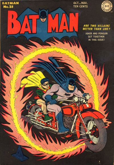 Cover for Batman (1940 series) #25