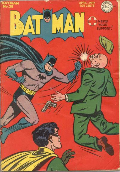 Cover for Batman (1940 series) #28