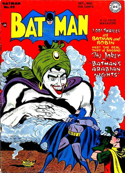 Cover for Batman (1940 series) #49